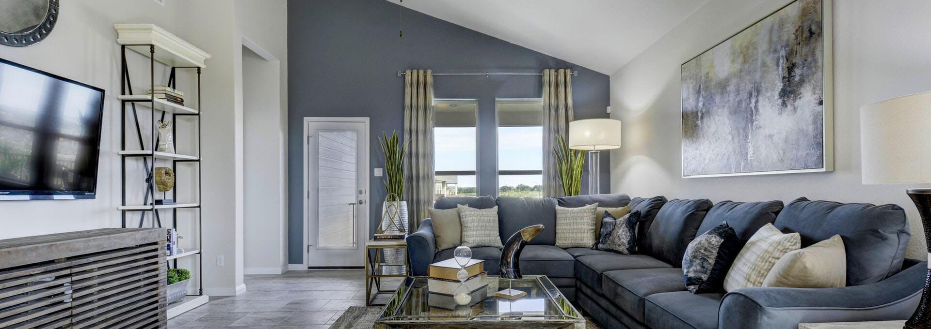 The aaron living room
