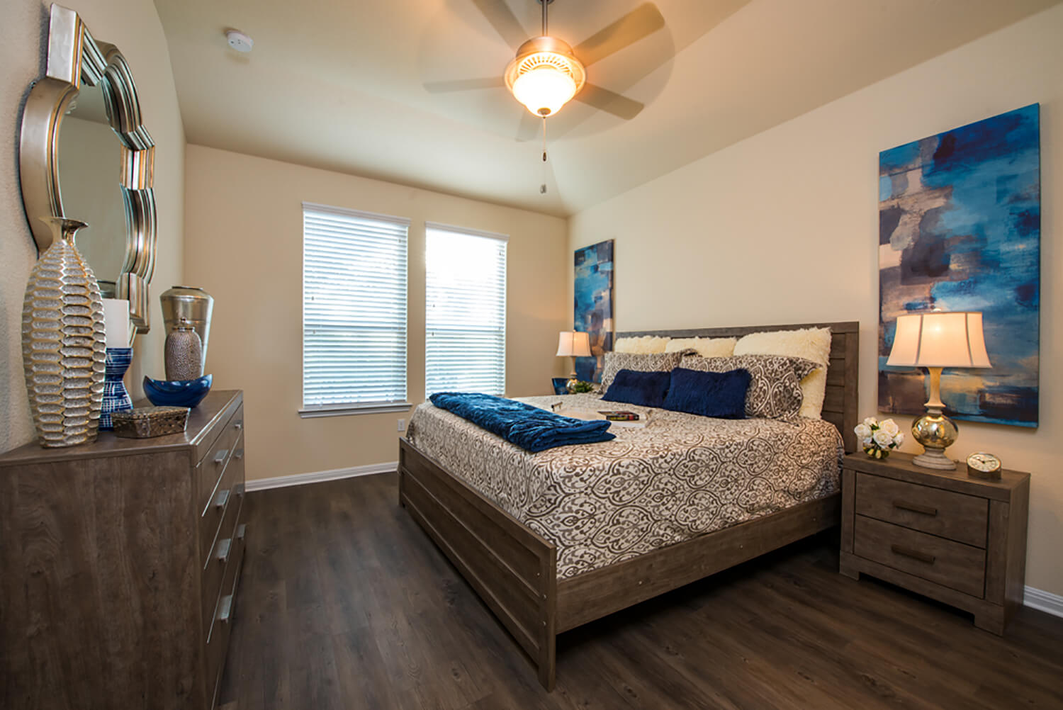 Bee Cave Vista Model Home Master Bedroom Photo