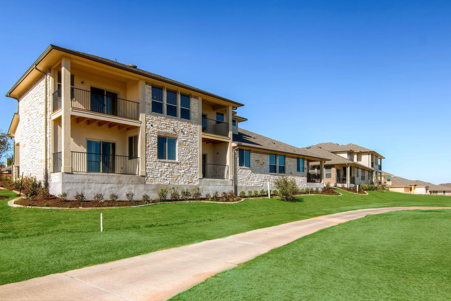 Double Eagle Townhomes Exteriors