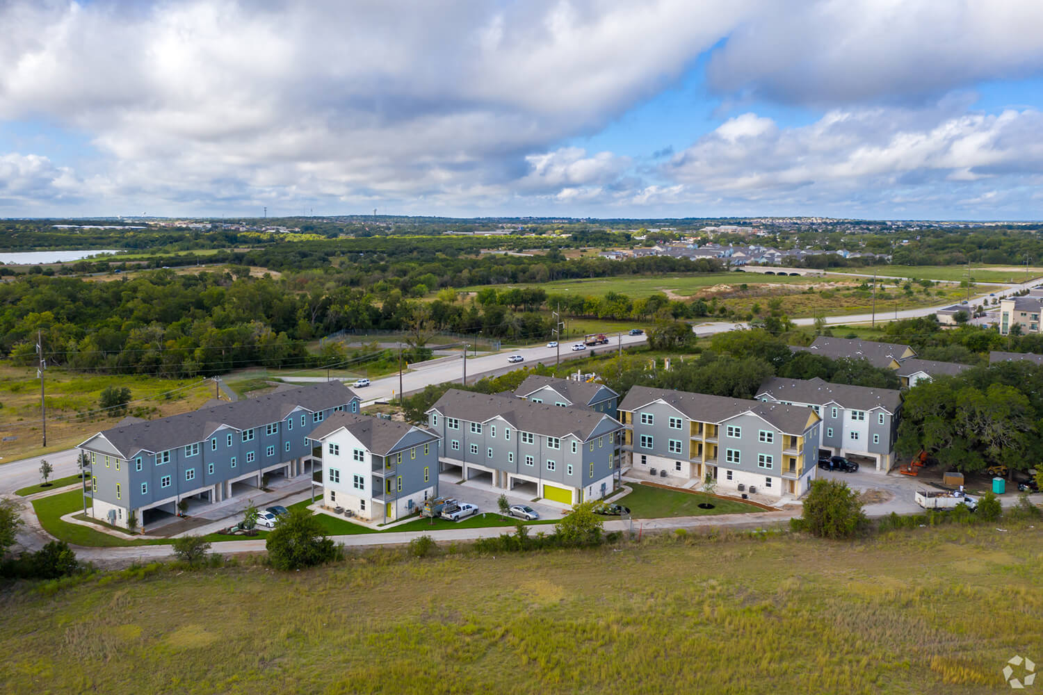 Trailside Oaks Townhomes Aerial Photo