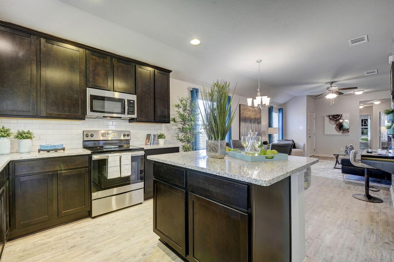 Walden Square Model Home Kitchen Photo