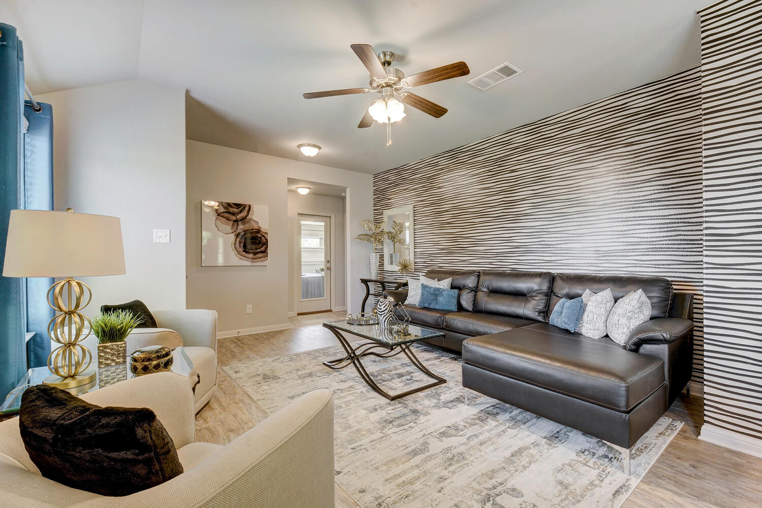 Walden Square Model Home Living Room Photo
