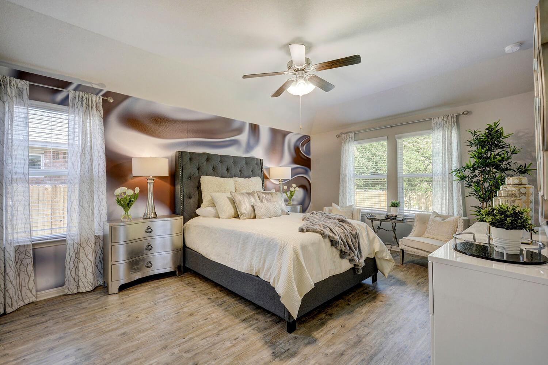 Walden Square Model Home Master Bedroom Photo