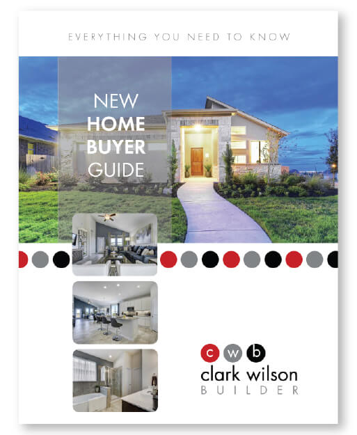 Photo of New Home Buyers Guide Cover