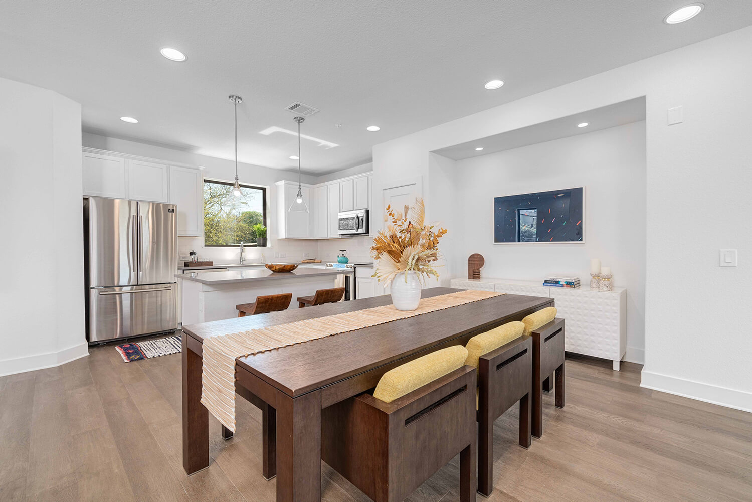Landing at Lakeway Unit 101 Kitchen and Dining Room Photo