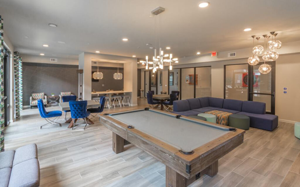 Photo of The Proper Pool Table in Clubhouse Photo